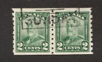 #161  - Canada -  1929  -  2 Cent  - Used  -   VF - superfleas
