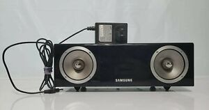 Samsung DA-E570 2.1Channel Dual Audio Dock Black VG With Remote Tested S1