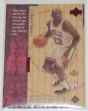 1998 Michael Jordan/Jackson NBA Upper Deck Holding Court Insert Card #1931/2300