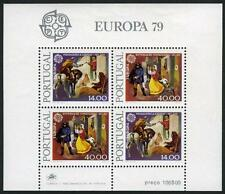 Portugal 1424a S/S, MI Bl.27, MNH.Europa CEPT.Mail Delivery 16th,19th cent.,1979