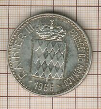 Monaco 10 franc argent Rainier III 1866