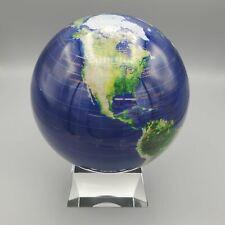 "Mova Globes Relief Map 6"" Spinning Globe w/Glass Base (MG-6-BGE-MCB)"