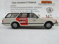 "Brekina 19506 Ford Granada MK II Turnier ""BF Köln / NOTARZT"" 1:87/H0 NEU/OVP"