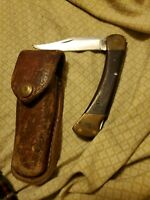 VINTAGE '74-77 BUCK USA 110 3PIN LOCKBACK FOLDING HUNTER BOWIE KNIFE KNIVES OLD