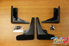 2015-2018 Dodge Charger Set Of Front & Rear Mud Flap Splash Guards Mopar OEM