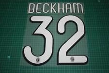 AC Milan 09/10 #32 BECKHAM Homekit / 3rd Awaykit Nameset Printing