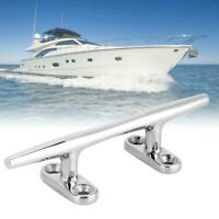 Stainless Steel Yacht Rope Base Round Cleat Bollard Yacht Accessory For Ship