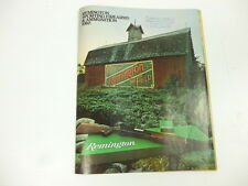 Remington Sporting Firearms Ammunition Catalog 1980