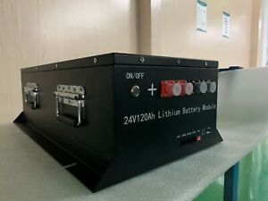 DC 24V/120Ah 3KWh Battery Energy Storage LiFePO4 Support Customize In Stock
