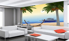 Tropical Beach Wall Mural Photo Wallpaper GIANT DECOR Paper Poster Free Paste