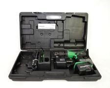 Hitachi DS 18 DVB SSX Cordless Drill Set 18 Volt / Case & Charger