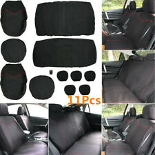 11x Full Set Front & Rear Car Seat Protector Cover Interior Accessories Back Set