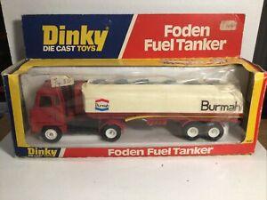 Dinky 950 Foden Fuel Tanker Truck Excellent Condition In Original Box, Meccano