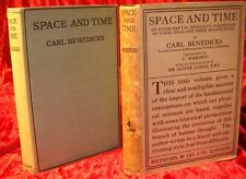 SPACE and TIME - BENEDICKS/Einstein & Original D/J - 1924 - First Printing
