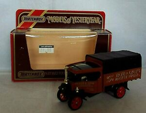 MATCHBOX Models of Yesteryear Y-27 1922 Foden Steam Wagon TATE & LYLE'S ISSUE 5