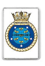 HMS MANCHESTER FRIDGE MAGNET