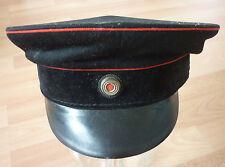 Berretto uniforme, Vigili fuoco Prussia, Impero tedesco, I GUERRA MONDIALE