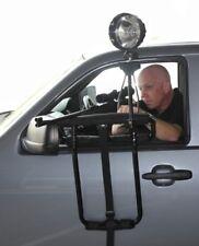 NEW PACKAGE Deluxe Car Door Mounted Shooting Rest w/ Spotlight, Handle & Mount