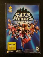 City of Heroes PC Video Game 2004 New / Open Box