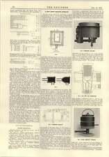 Horno de calefacción 1915 nuevo lingote Ionides 1