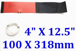 """4"""" X 12.5"""" 100 X 318mm 12V 240W Nitrous Bottle Heater 10 / 15LB Flexible Heater"""