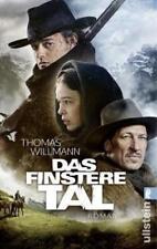 Roman Krimi Das finstere Tal von Thomas Willmann 1x gelesen, neuwertig Nachlass