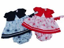 Ropa de algodón y poliéster de bebé para niñas de 0 a 24 meses