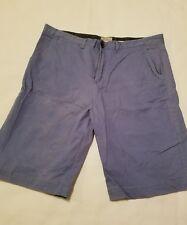 Men's French Blue Jachs Chino Shorts-Size 36