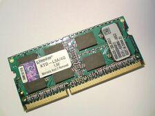 4GB DDR3-1066 PC3-8500 KINGSTON KTD-L3A/4G 1066MHz LAPTOP RAM MEMORY