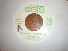 The Exiles 45 What Is The Reason PROMO DATE