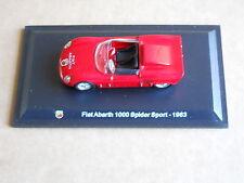 Leo Models CAR DIE CAST 1:43 NEW - FIAT ABARTH 1000 SPORT SPIDER 1963 [MV-14 ]