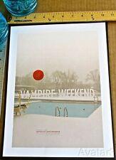 Vampire Weekend Mini-Concert Poster Reprint for 2013 Austin City Limits 14x10
