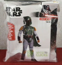 Halloween Costumes Dress-up Star Wars Boba Fett Child Large 12-14