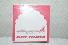 AVION DE LIGNE  SCHABAK  AIR INDIA BOEING   747/400 AVEC BOITE PLANE/PLANO