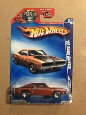 HOT WHEELS 2009 MUSCLE MANIA BATTLE FORCE 1969 DODGE CHARGER 81 5