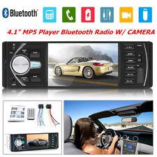 "4.1"" Car Stereo Radio MP5 MP3 Player Bluetooth 1 DIN SD USB FM Audio HD Camera"