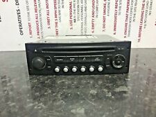 CITROEN PEUGEOT RADIO STEREO CD PLAYER HEAD UNIT RD4 WITHOUT CODE