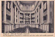 REGGIO EMILIA - Sala del Consiglio Comunale 1938
