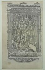 JUDAS KUSS STUNDENBUCH PERGAMENT METALLSCHNITT PARIS 1500 BOOK OF HOURS KISS J36