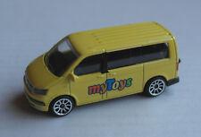 Majorette VW Volkswagen Bus T6 gelb mytoys Werbemodell Promotional Model Promo