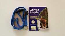 NEW DOG Gentle Leader ROYAL BLUE, Medium, Nylon, Premier