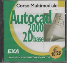 2000 Start AutoCad 2000 2D. Corso base. Con CD-ROM di De Stephanis Anna - EXA
