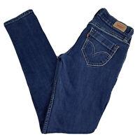Levi's 524 Too Superlow Skinny Jeans Women's Junior 3 Short Dark Wash