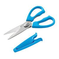 SCANPAN Spectrum Soft Touch Kitchen Shears w/ Sheath Blue Take-apart Design!