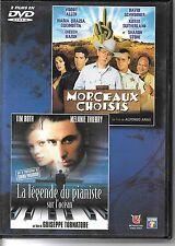 DVD ZONE 2 / 2 FILMS--MORCEAUX CHOISIS & LA LEGENDE DU PIANISTE--ALLEN/TORNATORE