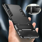 Hybrid Armor Case Stand Cover For Huawei P40 P30 P20 Pro Lite Mate 20 30 Lite 10