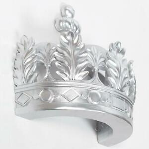 Silver Crown Wall Canopy