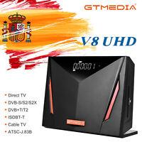V8 UHD Satélite Receptor de TV DVB-S2X+T2 4K Ultra/Lector de Tarjetas Smart Card