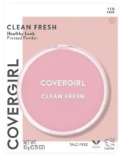 2 Pack Covergirl Clean Fresh Healthy Look Pressed Powder, 120 Fair
