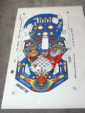 WILLIAMS JOKERZ Pinball Machine Playfield Overlay - MADE FROM WILLIAMS FILMS